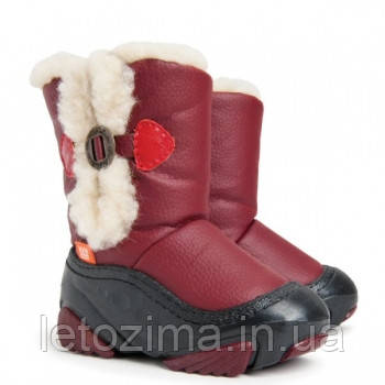 Зимние сапожки для девочек DEMAR EMU