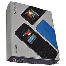Мобильный телефон Nokia 105 DualSim Cyan, фото 3