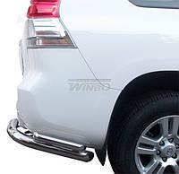 Защита заднего бампера Toyota FJ150 2009-2014