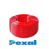 Труба PEXAL для тёплого пола (сшитый п/э) КРАСНАЯ 16х2,0 (200м)