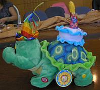 Мягкая игрушка. Черепаха-музыкальный подарок Дня рождения PTM05-2266
