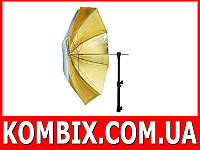 Фотозонт Mircopro UB-005G 110 см золото-серебро