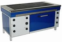 Плита электрическая с духовкой ЭПК-6 Ш Стандарт Эфес. Оборудование для ресторанов, кафе, фаст-фудов
