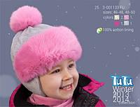 Шапка для девочки TuTu арт. 25.3-001133(46-48)