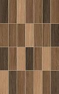 Плитка стена Karelia Mosaic коричневый 25х40