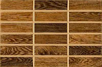 Плитка стена MADERA 23x35 коричневая темная