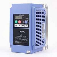 Частотный преобразователь HITACHI  X200-007SFEF 0,75 кВт 1х230В