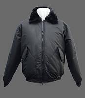 Куртка зимняя Альфа с меховым воротником