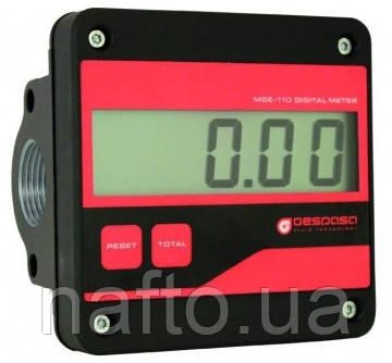 Счетчик электронный для ДТ и масел MGЕ-110