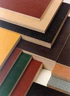 Фанера ламинированная серо-коричневая 1250*2500*12 мм F\F (Рига), фото 1