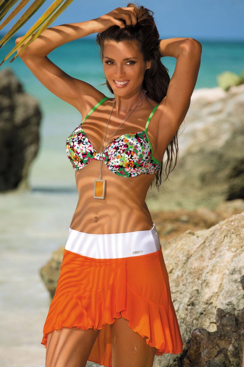 ca7a9f3943f9 Шикарная пляжная юбка M 363 KAYLA (в расцветках)