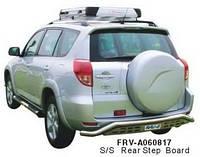 Защита заднего бампера (труба) Toyota RAV4 2006-2011