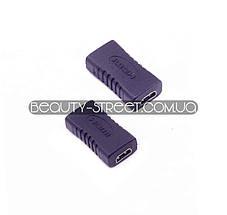 Переходник microHDMI (мама)  -  microHDMI (мама)