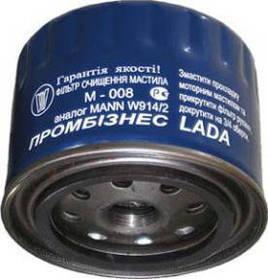 Фильтр масляный Промбизнес М-008 (ВАЗ 2108-09)