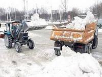 Вывоз снега Киев