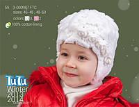 Шапка для девочки TuTu арт. 59.3-000987(46-48)