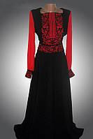 Платье нарядное женское, лен