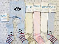 Хлопковые детские колготки под памперс с красочным рисунком (арт.490)