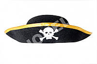 """Шляпа детская карнавальная """" Пиратская треуголка  """""""