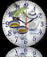 Часы на ДВП