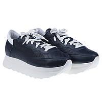 Удобные кроссовки от SELESTA (стильные, кожаные, синего цвета)