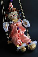 Кукла Клоун на качельке