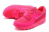 Кроссовки женские Nike Air Max 90 Yeezy 2 D210 розовые