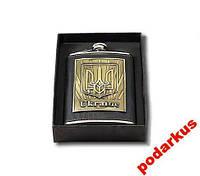 Фляга металлическая с гербом Украины