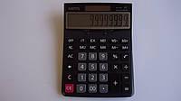 Настольный калькулятор Eates DC 130,195х140х25 мм,12 ти разрядный. Универсальный калькулятор большой 12ти разр