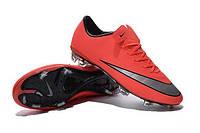 Мужские бутсы Nike Mercurial Vapor X FG Bright Манго , фото 1