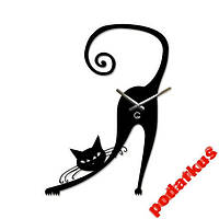 Часы настенные Грациозная кошка