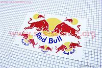 """Наклейки на планшете """"Red Bull"""" набор 6шт 26х17"""