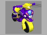 Детский мотоцикл-каталка Байк Полиция, 0139/50