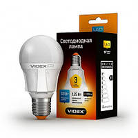 Светодиодная (LED) лампа VIDEX A60 13W 3000K 220V