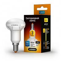 Светодиодная (LED) лампа VIDEX R63 5W 3000K E14 220V, фото 1