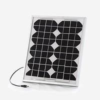 Зарядное устройство на солнечной батареи 10W для кемпинга, фото 1