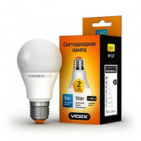 Светодиодная (LED) лампа VIDEX A60e 9W 3000K 220V