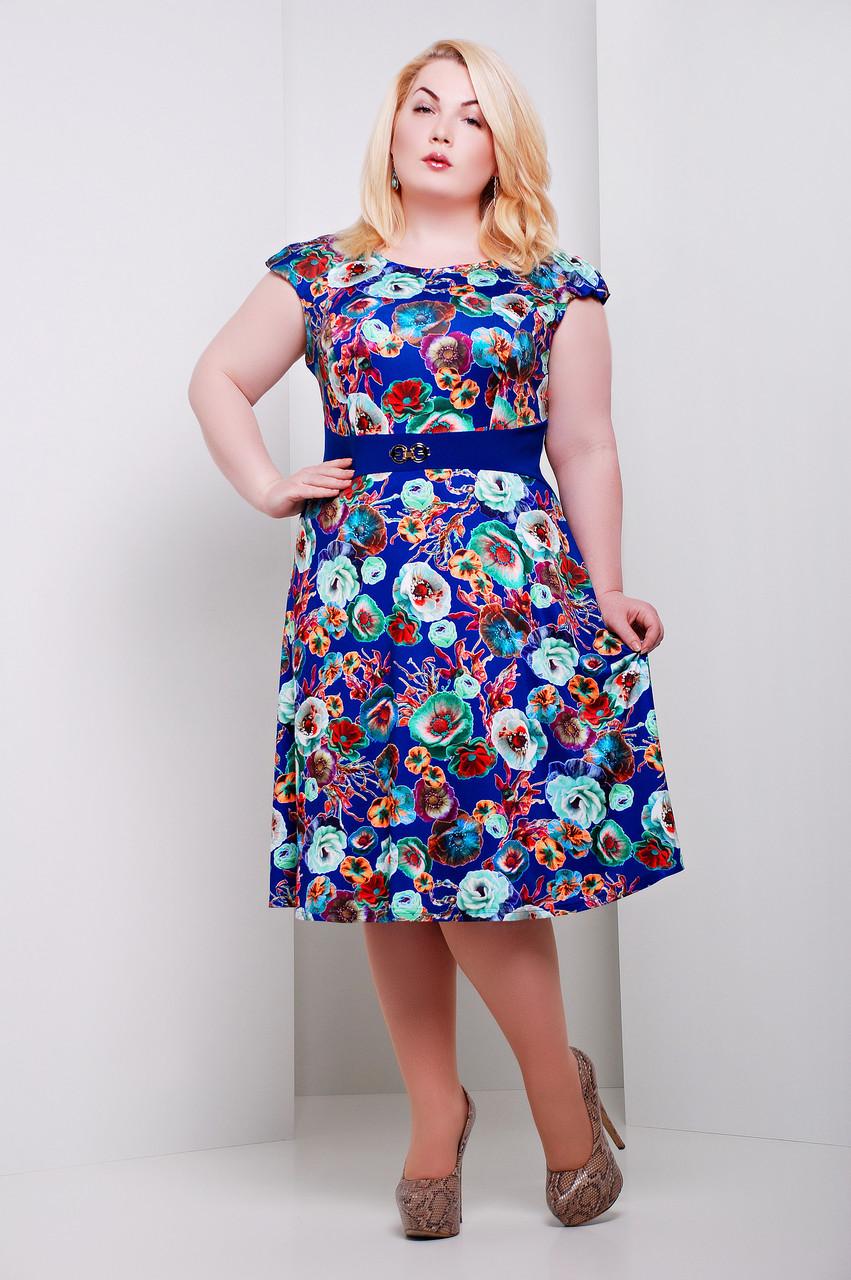 Купить летнее платье в харькове больших размеров