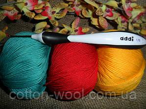 Addi swing (Адди) крючок вязальный №1.75,эргономическая ручка