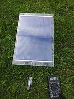 Гибкая солнечная зарядка 7Вт + USB переходник + аккумулятор Li-Pol 7200 mA