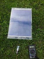 Гибкая солнечная зарядка 7Вт + USB переходник
