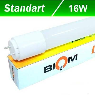 Светодиодная лампа Biom T8-GL-1200-16W NW 6000K G13, фото 2