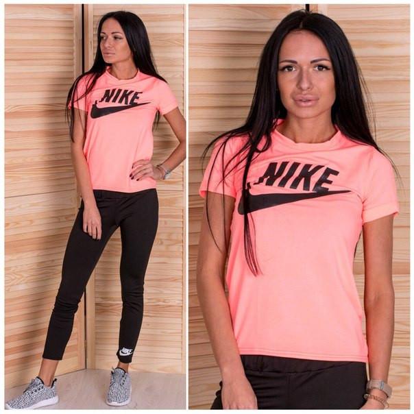 66fc95a1 Женский летний спортивный костюм в разных расцветках t-505118 -  Интернет-магазин одежды