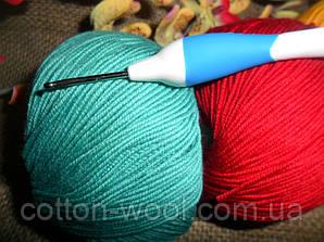 Addi swing (Адди) крючок вязальный №2,эргономическая ручка