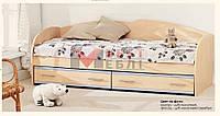 Кровать К-117 (с основой под матрас / без матраса)