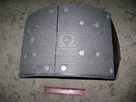 Колодки тормозные МАЗ 5440, КАМАЗ задние правая (ТАиМ). 5440-3502090