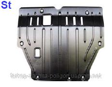Защита картера Skoda Fabia v-1,2 (с балкой) СНГ c-2000г.