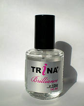 TRINA Brilliance coat - покрытие, эффект мокрых ногтей, 14 мл