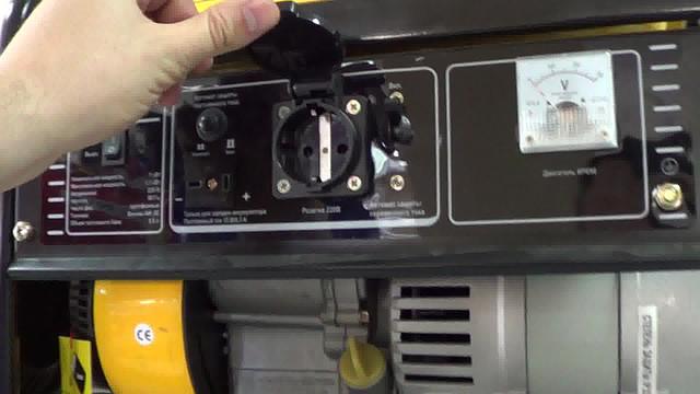 Бензиновый генератор Firman SPG 1500 фото 2