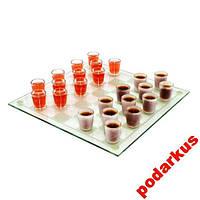 Алко шашки с рюмками, стопками алко-игры